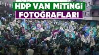 HDP Van Mitingi Fotoğrafları