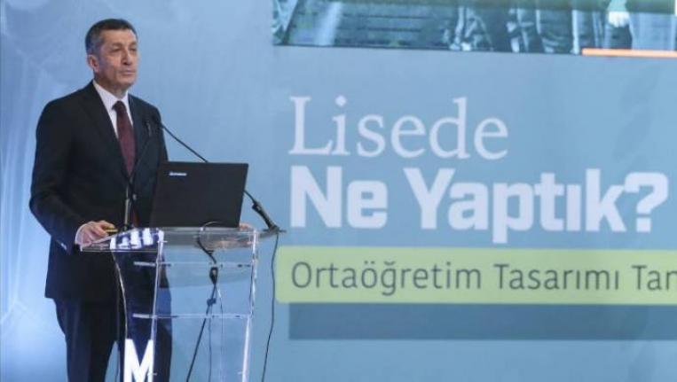 Milli Eğitim Bakanı Selçuk: Liselerde ders sayısını azaltıyoruz
