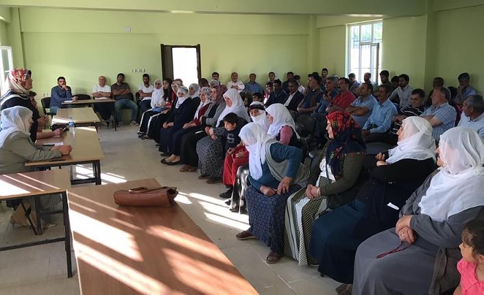 Eşbaşkan Çetin'in halk toplantıları devam ediyor
