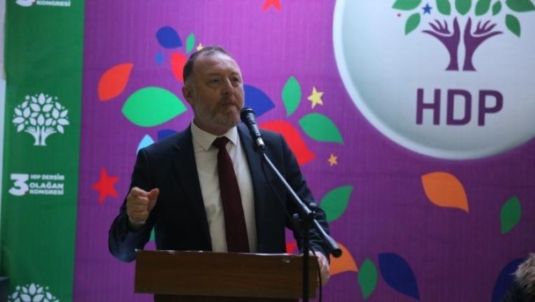 Dersim'de konuşan Temelli: Demokratik Türkiye için erken seçim istiyoruz