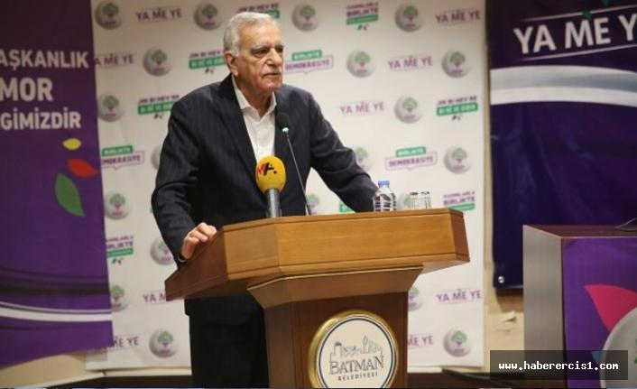 Ahmet Türk: Kürtlerin üzerine hiçbir dönem şimdiki gibi gelindiğini görmedim