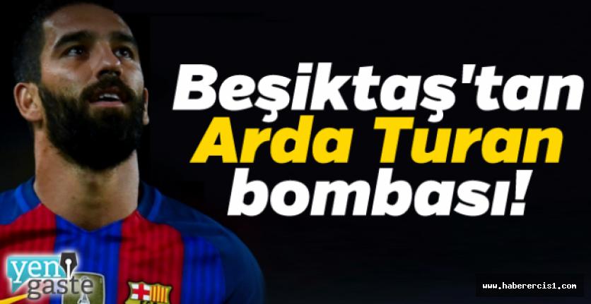 Son dakika... Beşiktaş'tan Arda Turan bombası