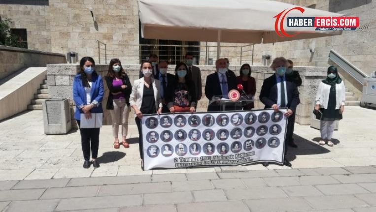 HDP milletvekilleri: 2 Temmuz'da Sivas'tayız