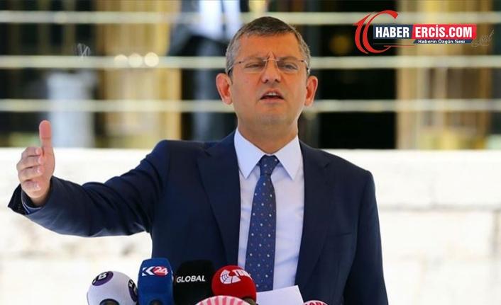 CHP'li Özel: Tek adam rejimi Türkiye'yi yoksullaştırıyor