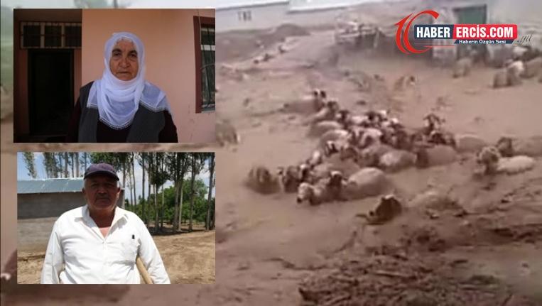 Erciş'te sel mağdurları: Canımızı zor kurtardık