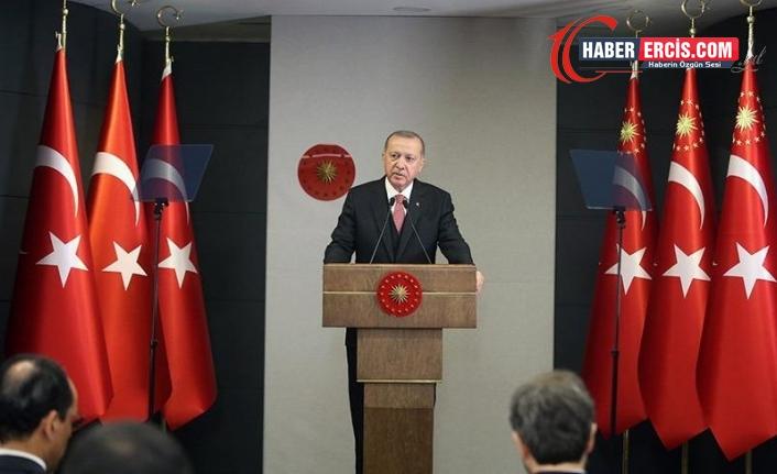 Erdoğan: Ayasofya'yı yanlış bir kararla müzeye çevirmiştik