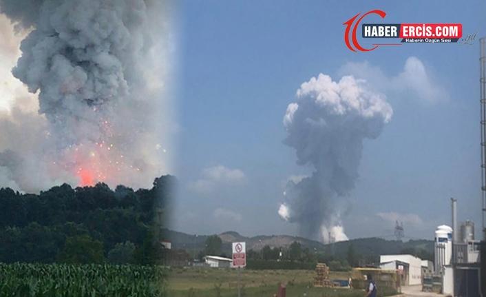 Fabrika patlamasında 3 kişiye gözaltı kararı