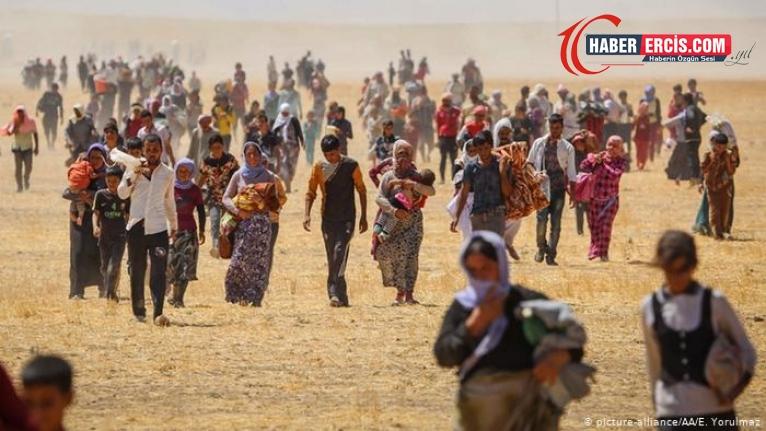 Tarih boyunca 74 kez katliama uğradılar: Êzidîler Şengal'de kaçırılan 3 bin kadın ve çocuğu arıyor