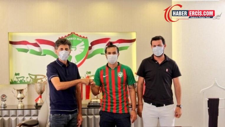 Amedspor sezonun ilk transferini gerçekleştirdi