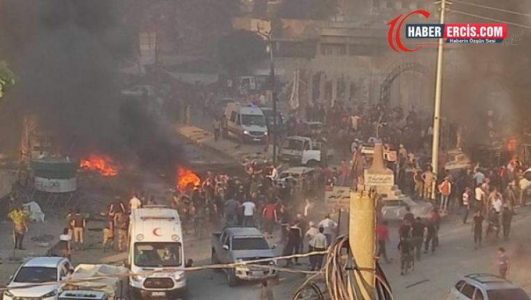 Efrin kent merkezinde patlama: 7 ölü, 40 yaralı