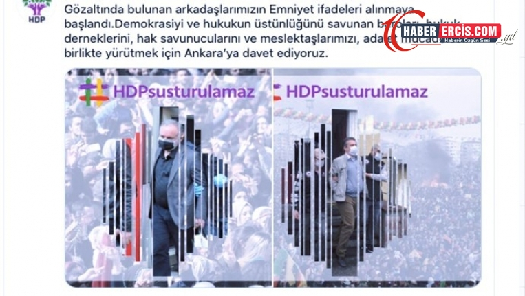 HDP'den hukukçulara 'adalet mücadelesi' çağrısı