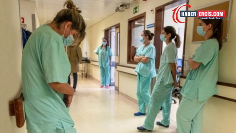 Her 10 Kovid-19 hastasından biri sağlık emekçisi