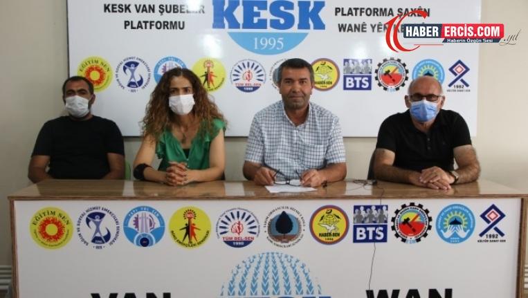 KESK Van Şubesi: Salgında okulların açılması büyük bir risk