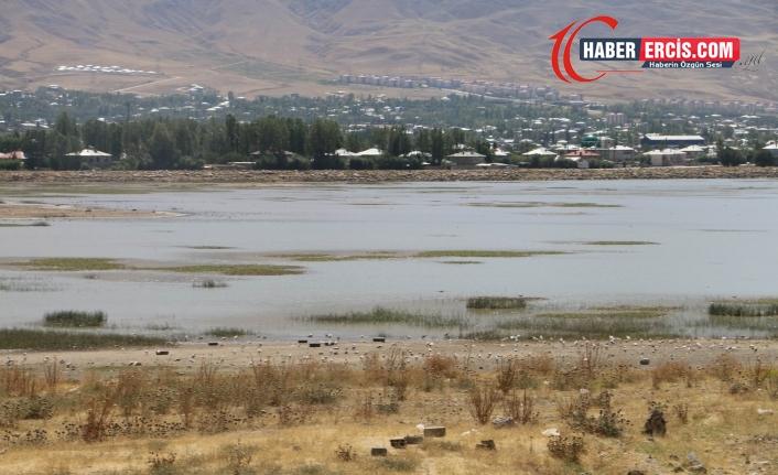 Van'da sıhke Gölü kuruyor