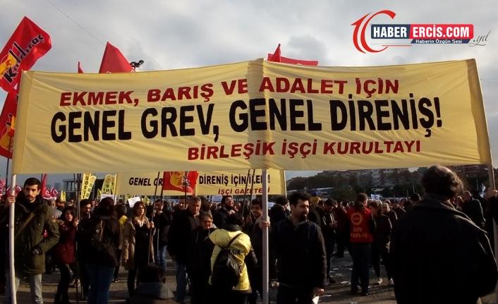 18 yılda AKP: 7'si OHAL'de 17 grev yasakladı