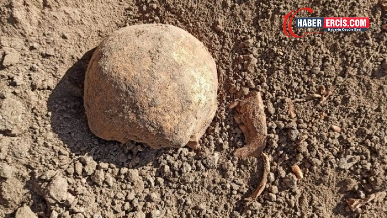 Ahlat'taki Cumhurbaşkanlığı Sarayı inşaatında kemiklere rastlandı