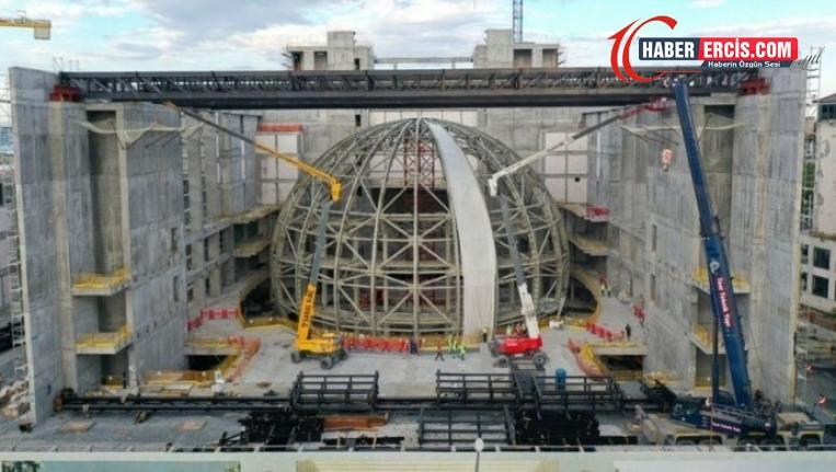 AKM inşaatında çalışan işçilere iş bitirme baskısı