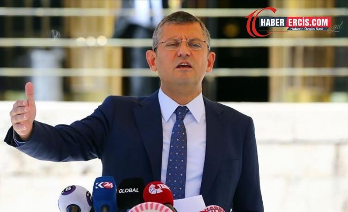 CHP'li Özel'den torba teklifteki 'kara para' düzenlemesine tepki