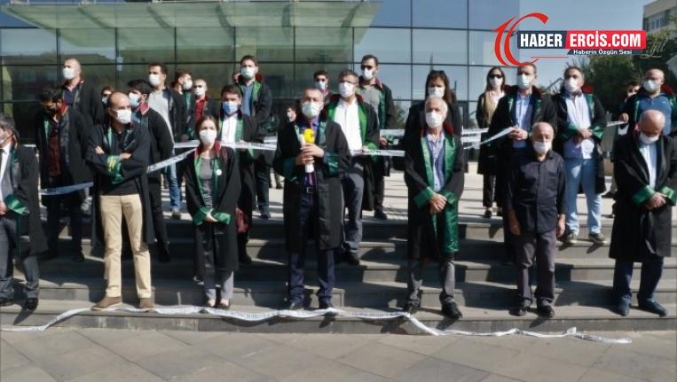 Diyarbakır Barosu Genel Kurulu'na izin verilmedi: Gerçeklerden korkuyorlar