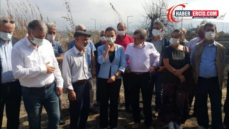 HDP heyeti orman yangınlarını yerinde inceledi