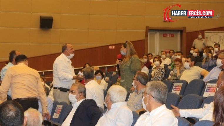 HDP'li Meclis üyesinin konuşmasına tahammülsüzlük