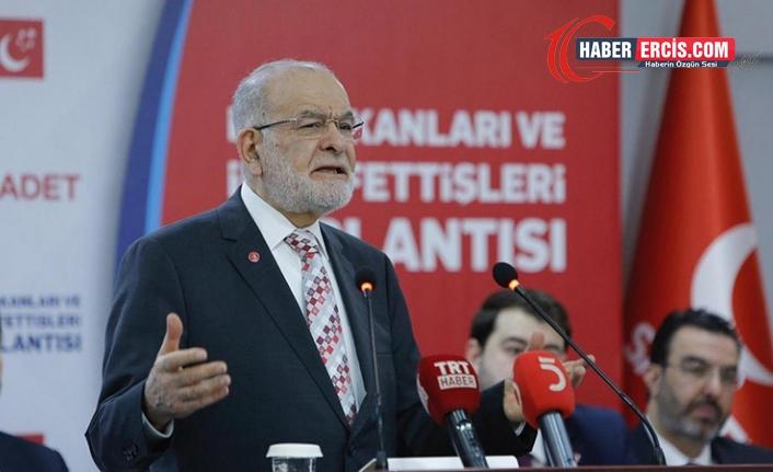 Karamollaoğlu: Anayasa hükmünü hiçe sayıyorsunuz