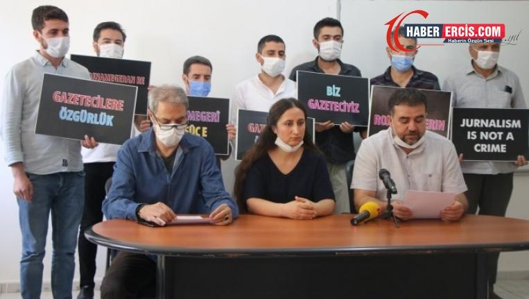 Van'da Gazetecilerin tutuklanmasına tepki: Gerçeği açığa çıkaranlar hedefte