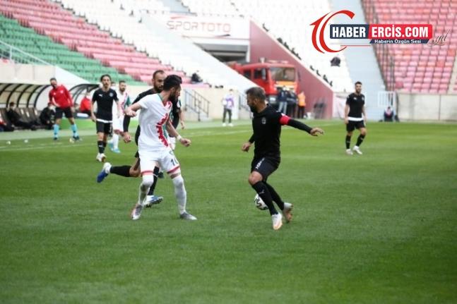 Amedspor sahasında 4-3 mağlup oldu