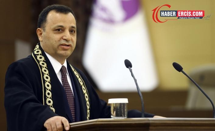 AYM Başkanı Arslan'dan 'masumiyet karinesi' hatırlatması