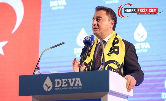 Ağrı'da konuşan Babacan: Devlet tek bir partinin değildir