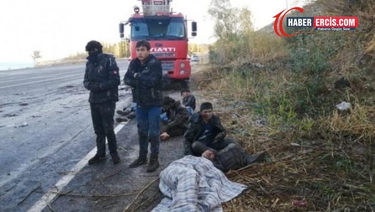 Van Erciş karayolunda kaza: 2 ölü, 31 yaralı