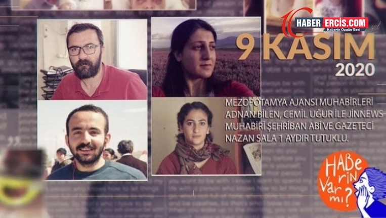 Van'da tutuklanan Gazeteciler için #YazmasalardıBilmeyecektik hashtagı