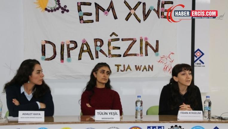 Van'da düzenlenen panelde konuşan Kaya: Kürt kentlerinde üniformalı şiddet yaşanıyor