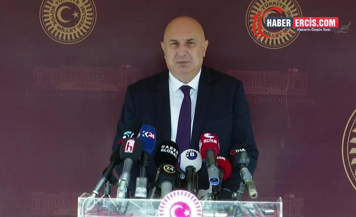 Özkoç: İstifa etmesi gereken Erdoğan'dır