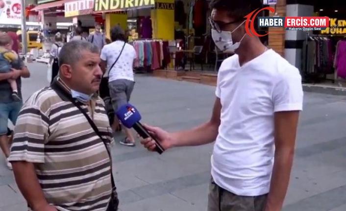 Sokak röportajında iktidarı eleştiren Demirbaş tutuklandı