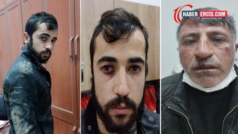 Van'da 2 kişiye gözaltında darp