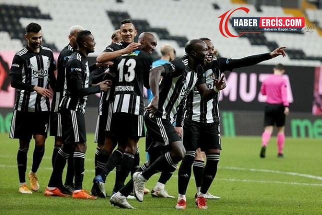Beşiktaş'tan 12 dakikada 4 gollü galibyet