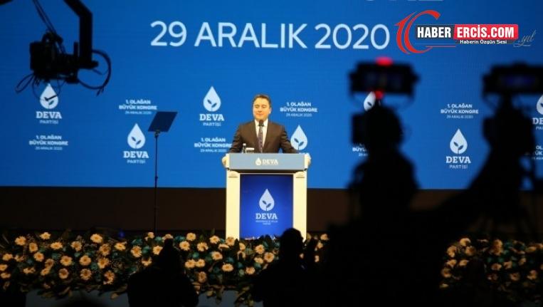 DEVA Genel Başkanı Babacan: Beka dedikleri bir kişinin şahsi bekası
