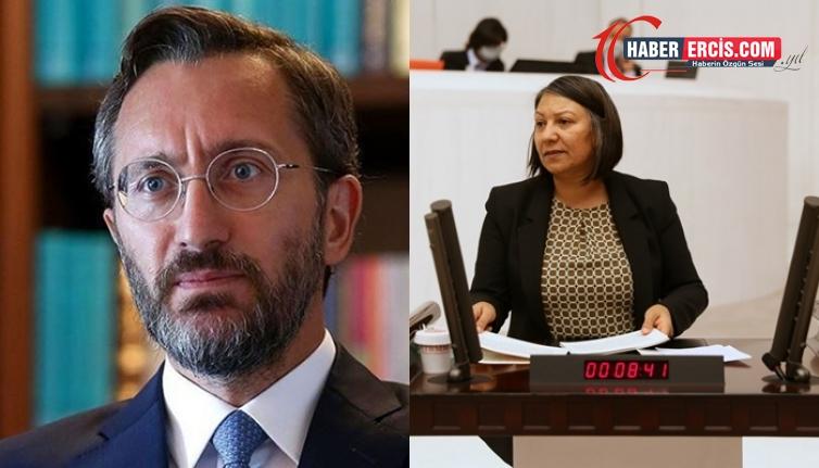 HDP'li Canbaz'dan Altun'a: Haddinizi bilin
