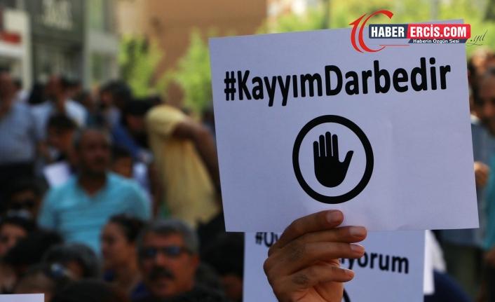 Van'da Dernekler 'kayyım yasasına' tepkili: Amaç muhalifleri ezmek