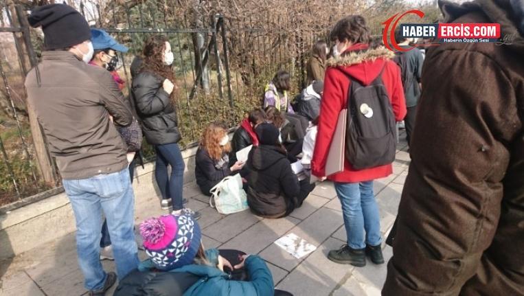 Ankara'da 'kayyım rektör' protestosu: Çok sayıda gözaltı