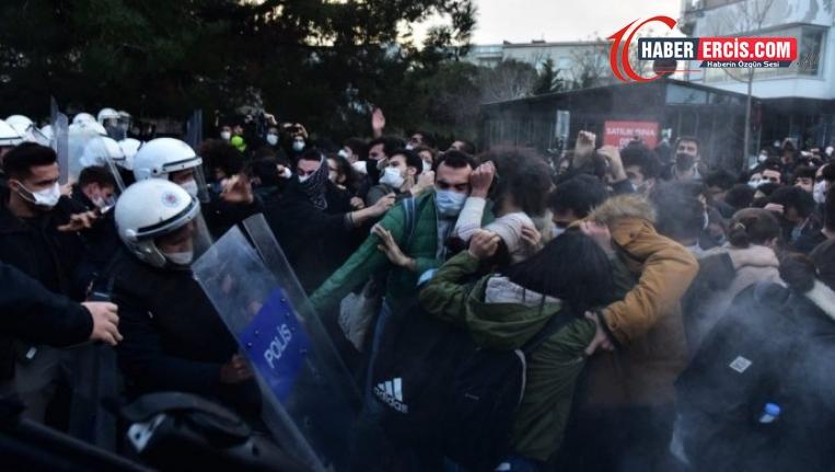 Boğaziçi Üniversitesi öğrencilerine yönelik gözaltı sayısı  36'ya yükseldi