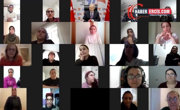 Geçim sıkıntılarını anlatan ev kadınlarına seslenen Kılıçdaroğlu: Bu tabloyu el birliği ile değiştireceğiz