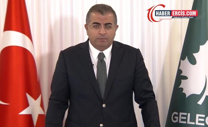 Gelecek Partisi Sözcüsü Özcan: Bunların derdi her gün birisini terörist ilan etmek