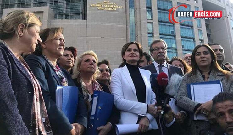 Kaftancıoğlu'ndan Erdoğan ve Soylu'ya suç duyurusu