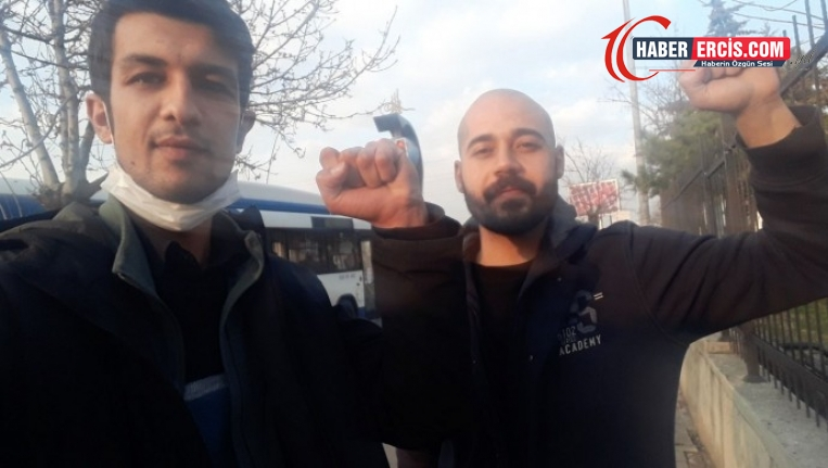 Polis, öğrencileri 3 saat otoparkta tuttuktan sonra serbest bıraktı