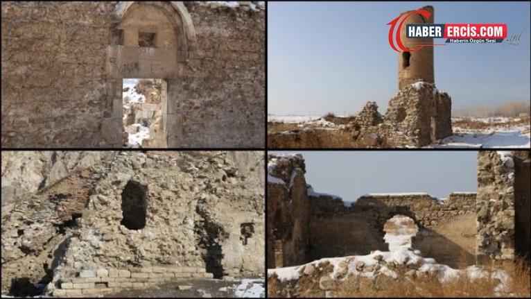 Tarihi Van Kalesi yıkılma tehlikesi ile karşı karşıya