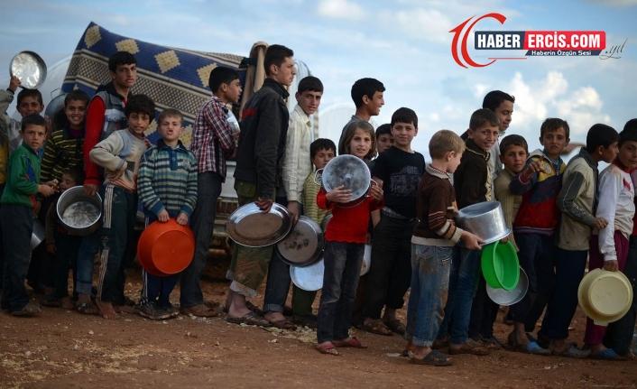 UNICEF: 10 milyon çocuk aç