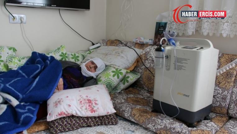 Van'da VEDAŞ'ın kesintisi 72 yaşındaki kadını oksijensiz bıraktı