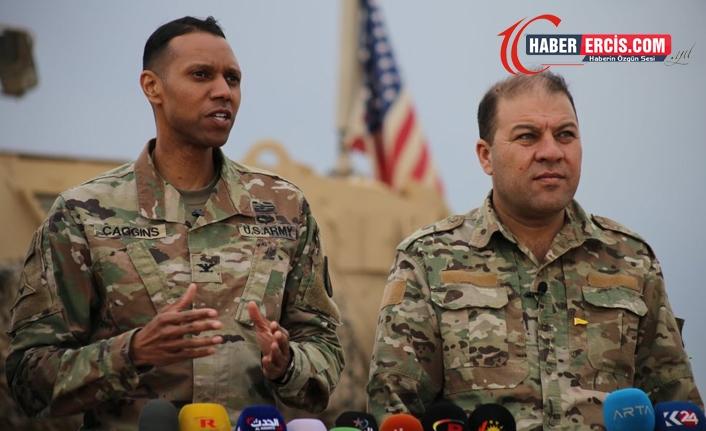ABD'li komutan Myles Caggins: Kürdistan'da süren operasyonlar IŞİD'le savaşta dikkati dağıtıyor